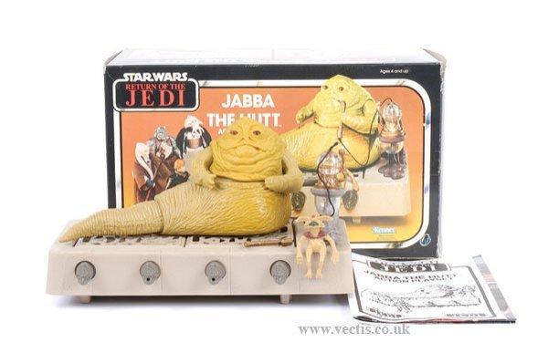 16: Kenner Star Wars ROTJ Jabba The Hutt