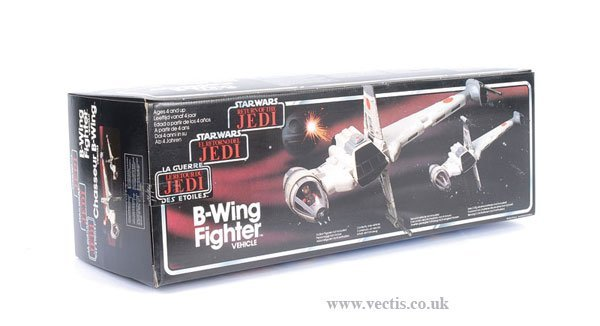 17: General Mills/Palitoy ROTJ B-Wing Fighter