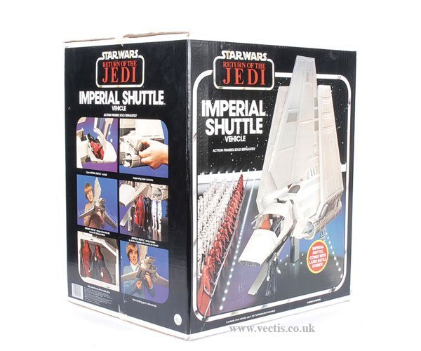 19: General Mills Palitoy ROTJ Imperial Shuttle