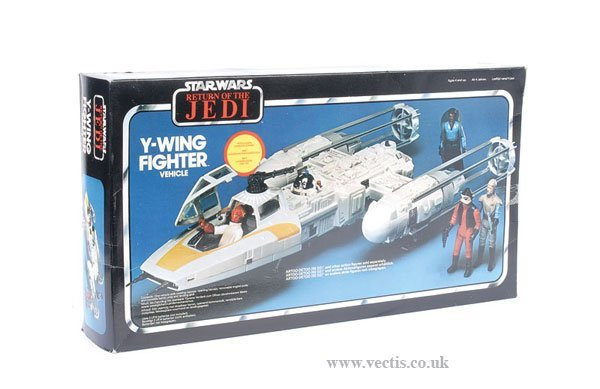 20: General Mills Palitoy ROTJ Y-Wing Fighter
