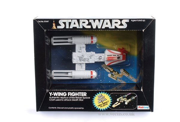 24: Palitoy Star Wars Diecast Y-Wing Fighter
