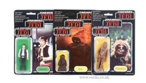 74: General Mills Palitoy Star Wars ROTJ Figures x 3