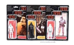75: General Mills Palitoy Star Wars ROTJ Figures x 3