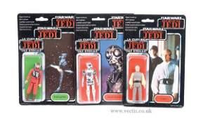 77: General Mills Palitoy Star Wars ROTJ Figures x 3