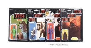 82: General Mills Palitoy Star Wars ROTJ Figures x 4