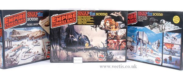 96: Airfix Star Wars ESB Plastic Kit Play Scenes