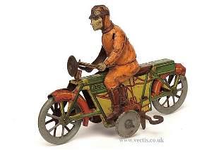 529: Georg Kellerman (Germany) Motorcycle