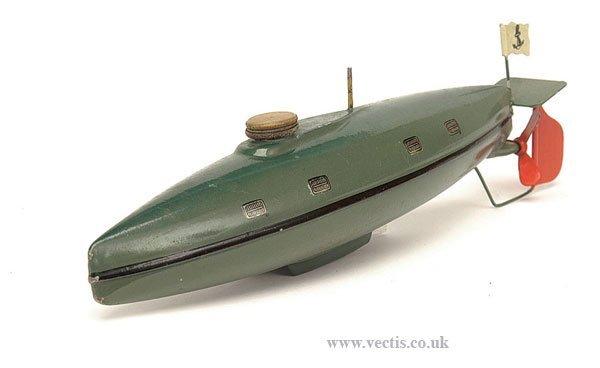896: Marklin Clockwork Submarine