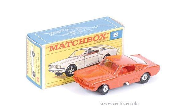 1003: Matchbox No.8e Ford Mustang
