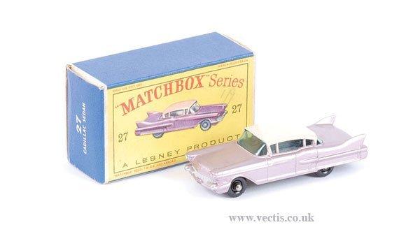 1004: Matchbox No.27c Cadillac Sixty Special
