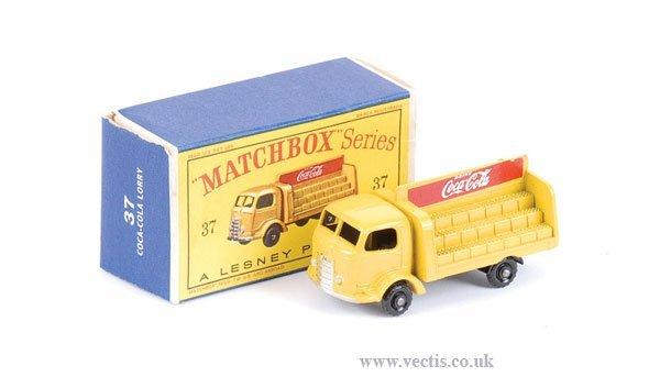 """1009: Matchbox No.37b Karrier Bantam """"Coca Cola"""""""