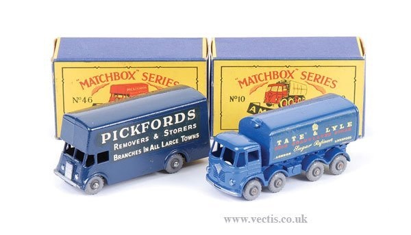 """1011: Matchbox No.10c Foden """"Tate & Lyle"""" Container"""