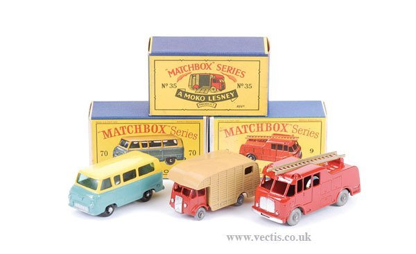 1021: Matchbox No.9c Merryweather Fire Engine