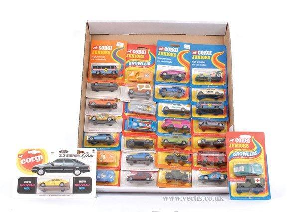 1330: Corgi Juniors No.129 Ford Sierra & Others