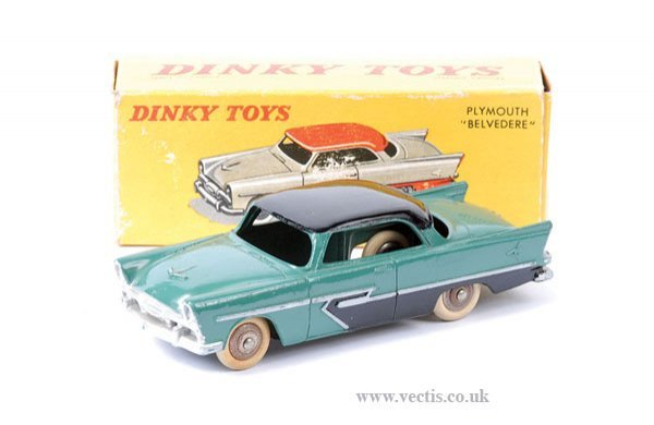 2001: French Dinky No.24D Plymouth Belvedere