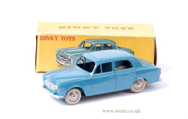 2004: French Dinky No.24B Peugeot 403 Berline