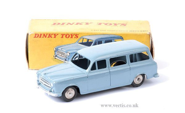 2006: French Dinky No.24F Peugeot 403 Familiale
