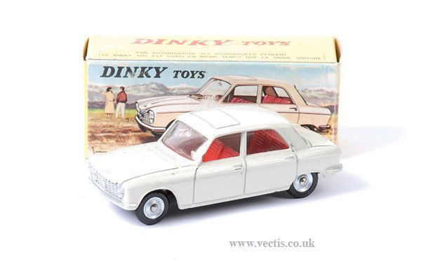 2020: French Dinky No.510 Peugeot 204