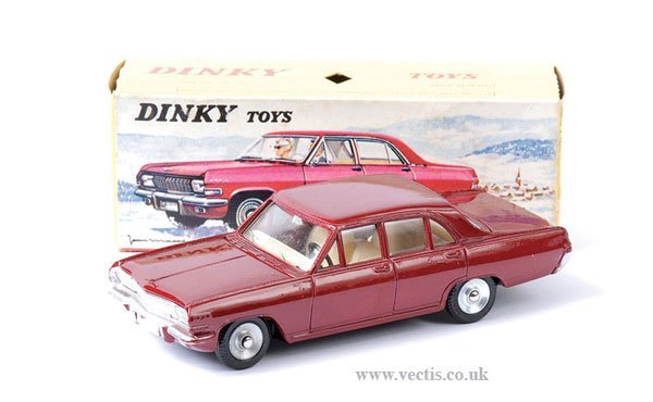 2023: French Dinky No.513 Opel Admiral