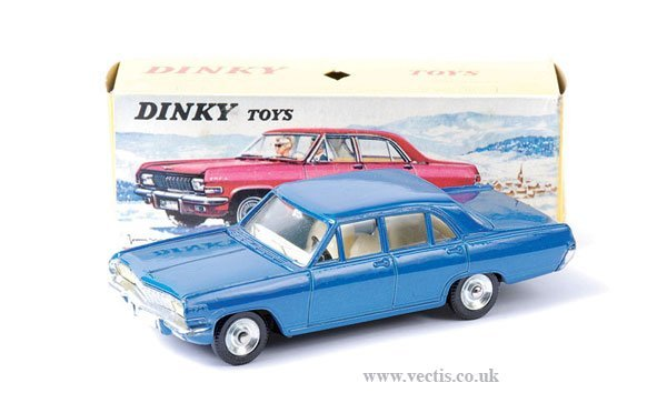 2024: French Dinky No.513 Opel Admiral