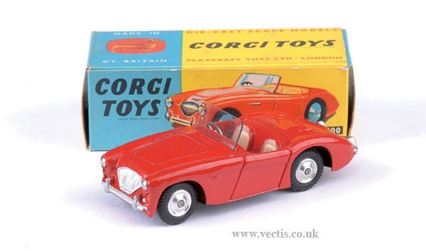 2247: Corgi No.300 Austin Healey Sports Car