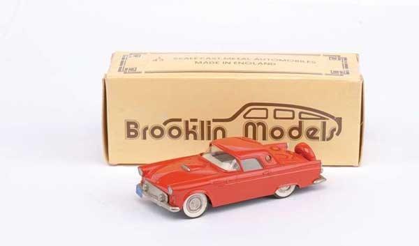 3004: Brooklin No.BRK12 1956 Ford Thunderbird