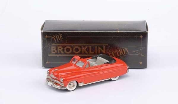 3006: Brooklin No.BRK15a 1950 Mercury Convertible