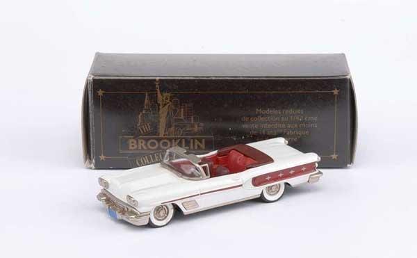 3016: Brooklin No.BRK25a 1958 Pontiac Bonneville
