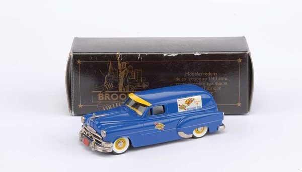 "3022: Brooklin No.31b 1953 Pontiac Sedan ""Sunoco"""