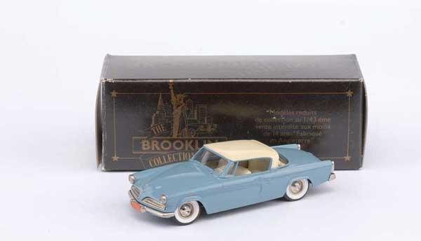 3023: Brooklin No.BRJK32a 1953 Studebaker Starliner