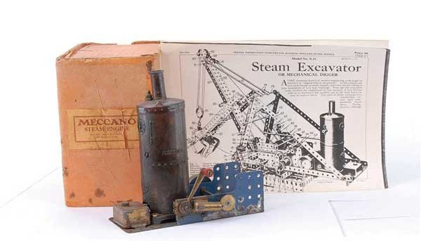 4002: Meccano Vertical Steam Engine