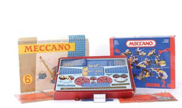 4006: French and English Meccano Sets