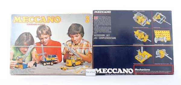 4011: Meccano 1960s and 70s Late Issue Sets