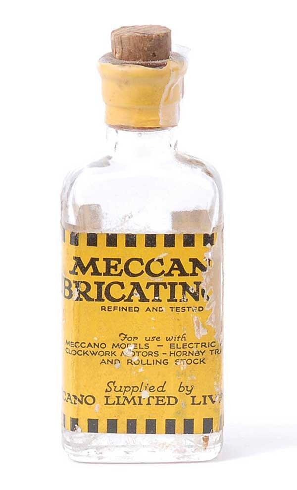 4015: Meccano Lubricating Oil