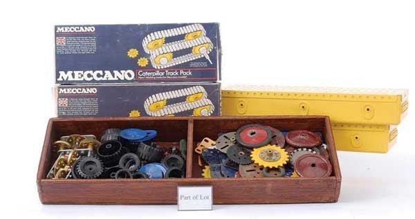 4019: Meccano - A Quantity of Components