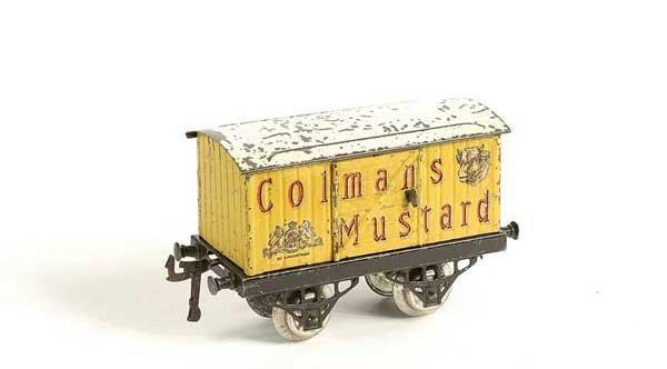 "4591: Hornby Private Owner Van ""Colemans Mustard"""