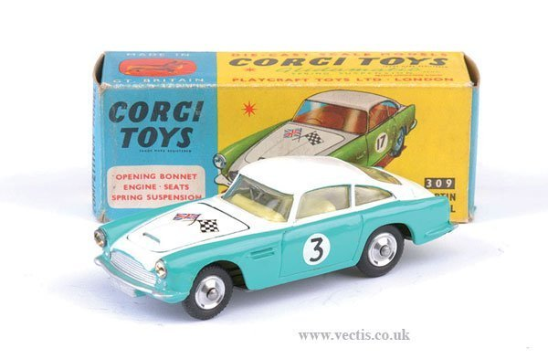 2267: Corgi No.309 Aston Martin Competition Model