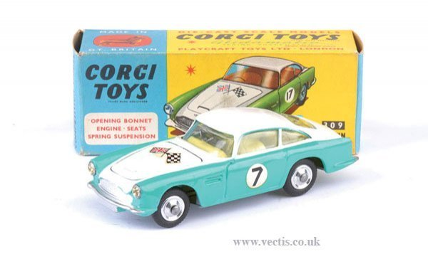 2268: Corgi No.309 Aston Martin Competition Model