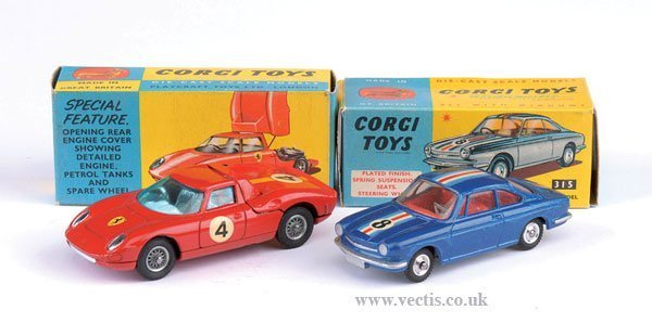 2273: Corgi No.314 Ferrari & Others