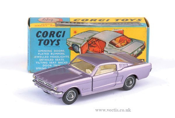 2280: Corgi No.320 Ford Mustang Fastback
