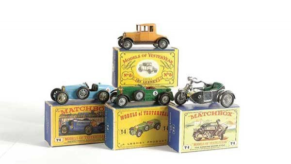 13: Matchbox MOY No.Y5 Le Mans 1929 Bentley & Others