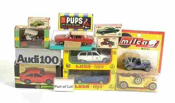 251: Luso Toys Ford Capri Mk.1 Race Car & Others