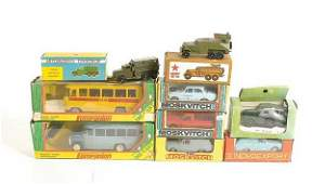 415 A Group of Russian Diecast Vehicles