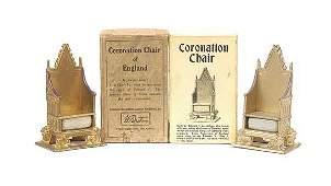 614 Britains  Set 1474  Coronation Chair 1937