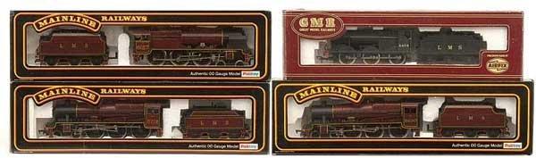 1004: OO Gauge - A Group of LMS Steam Locos