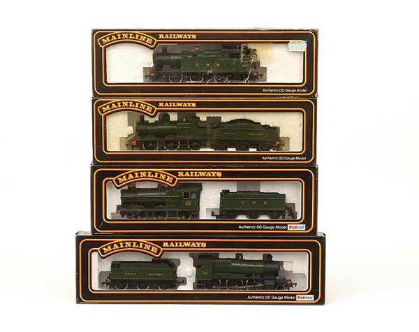 1005: Mainline - A Group of GWR Green Steam Locos