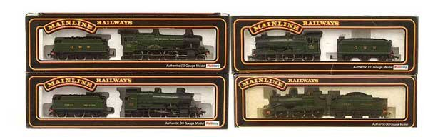 1006: Mainline - A Group of GWR Green Steam Locos