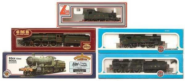 1007: OO Gauge Pre-nationalisation Steam Locos