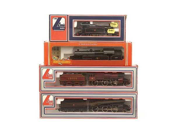 1009: OO Gauge - A Group of Steam Locos