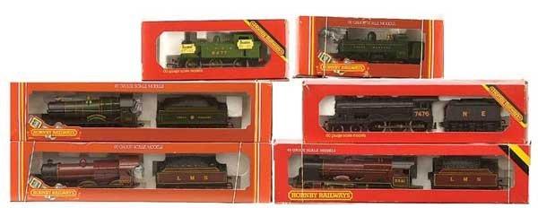 1010: Hornby Railways Pre-nationalisation Steam Locos